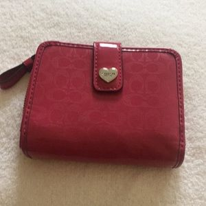 Coach wallet hardly used